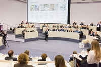 "On the 9th of November the panel discussion ""Policy, business-models and human capital for bioeconomy: Identifying opportunities"" took place in the Moscow School of Management SKOLKOVO"